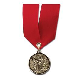 CX Medal w/ Satin Neck Ribbon