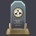 Pop-In™ Jade Acrylic Dog Show Award Trophy w/ Pedestal Base