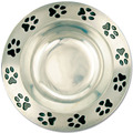 Pewtarex™ Paw Print Rim Dog Show Award Bowl