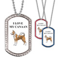 Personalized GEM Dog Stock Design Dog Tags