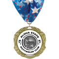 XBX Full Color Dog Show Award Medal w/ Millennium Neck Ribbon