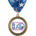 GFL Full Color Dog Show Award Medal w/ Millennium Neck Ribbon
