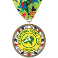 RSG Full Color Dog Show Award Medal w/ Millennium Neck Ribbon