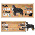 Dog Life Vintage Award Plaque