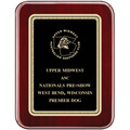 Rosewood Piano Dog Show Award Plaque