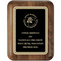 Walnut Dog Show Award Plaque