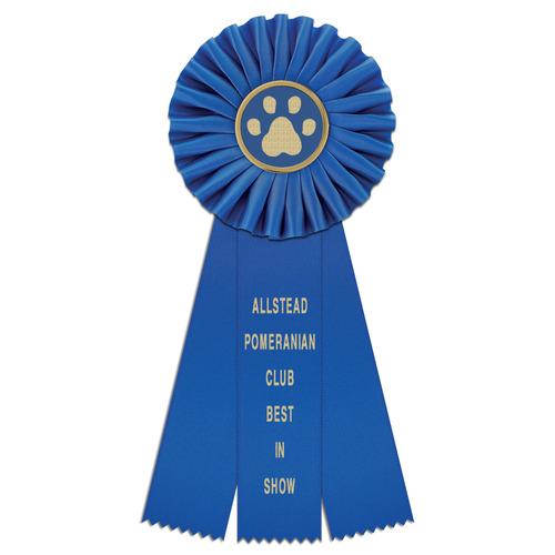 Dog Show Awards Ribbons