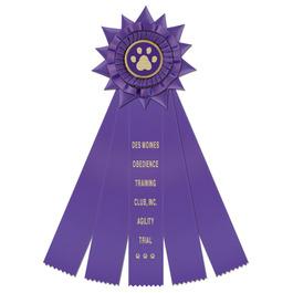 Finchley Rosette Dog Show Award Ribbon