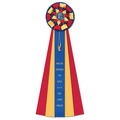 Newton Dog Show Rosette Award Ribbon