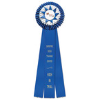 Chatham Dog Show Rosette Award Ribbon