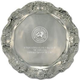 Pewtarex™ Gadroon Dog Show Award Tray