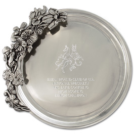 Pewtarex™ Iris Dog Show Award Tray