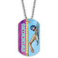 Swim Crawl Dog Tag