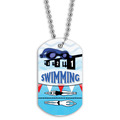 Swim Goggles Dog Tag