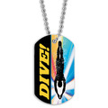 Swim Dive Dog Tag