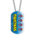 Swim Synchro Dog Tag
