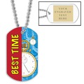 Swim Best Time w/ Engraved Plate