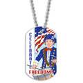 Full Color Freedom Dog Tag