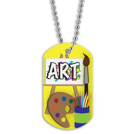 Full Color Art Dog Tag