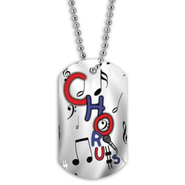 Full Color Chorus Dog Tag