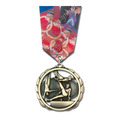 ES Medal w/ Multicolor Neck Ribbon
