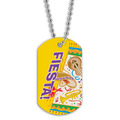 Full Color Fiesta Dog Tag