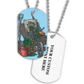 Personalized Garden Gear Dog Tag w/ Print on Back