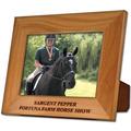 Red Alder Engraved Wooden Fair, Festival & 4-H Award Frame
