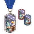 GEM Tag Fair, Festival & 4-H Award Medal w/ Grosgrain Neck Ribbon