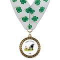 LFL Full Color Fair, Festival & 4-H Award Medal w/ Millennium Neck Ribbon