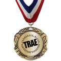 XBX Metallic Fair, Festival & 4-H Award Medal w/ Millennium Neck Ribbon
