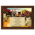 Wagon Fair, Festival & 4-H Award Plaque - Cherry Finish