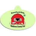 Full Color Wall Fair, Festival & 4-H Plaques - Oval Shape