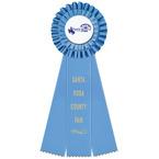 Luxury Fair, Festival & 4-H Rosette Award Ribbon