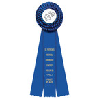 Dover Fair, Festival & 4-H Rosette Award Ribbon