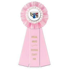 Trent Fair, Festival & 4-H Rosette Award Ribbon