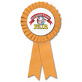 Prize Fair, Festival & 4-H Rosette Award Ribbon