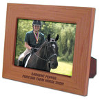 Red Alder Engraved Wooden Fair, Festival & 4-H Award Frame