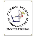 Custom Vinyl Gymnastics, Cheer & Dance Banner - Vertical