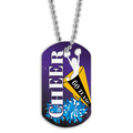 Cheerleader Dog Tag