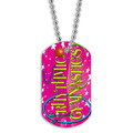 Full Color Rhythmic Gymnastics Dog Tag