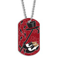 Full Color Tap Dance Dog Tag