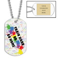 Personalized Train Hard Dog Tag