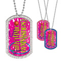 Full Color GEM Rhythmic Gymnastics Dog Tag