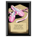 Ballet Award Plaque - Black