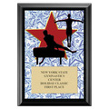 Gym Star Male Award Plaque - Black