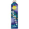Multicolor Point Top Award Ribbon