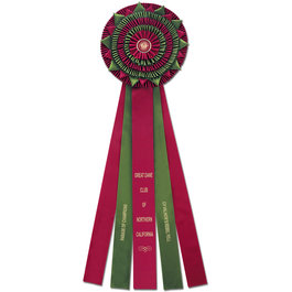 Holsworthy Dog Show Rosette Award Ribbon