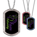 Custom GEM Horse Show Dog Tags