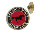 Custom Equestrian Lapel Pin